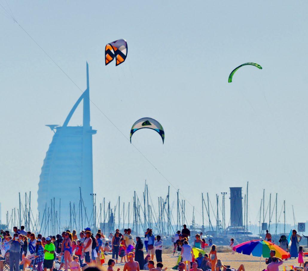 Kite Beach Burj Al Arab