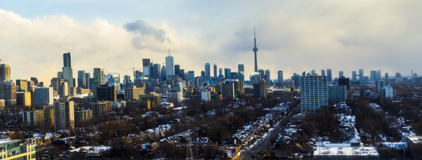 Toronto Winter Skyline