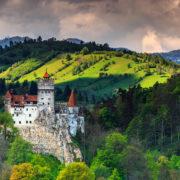 Dracula castle near Brasov,Bran,Transylvania, Romania