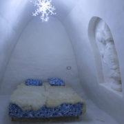 Snow Castle in Kemi, Finland.