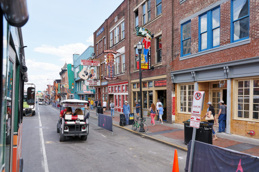 Historic District in Nashville, Tennessee