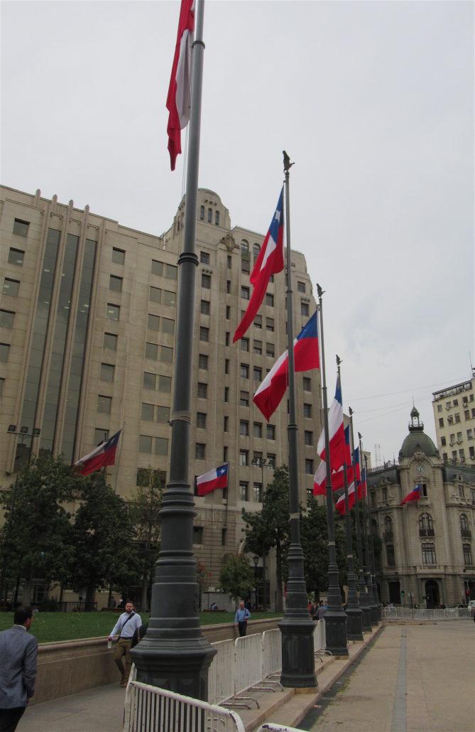 Santiago, Chile Flags