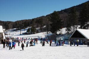 New Hampshire, White Mountains, Attitash Mountain skiing,