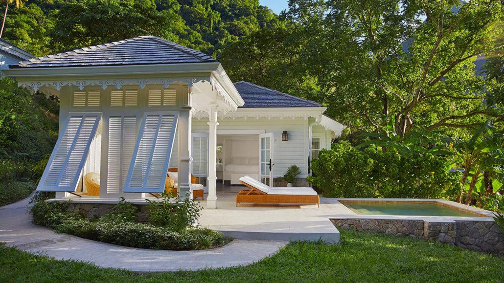 Sugar Beach luxury cottage