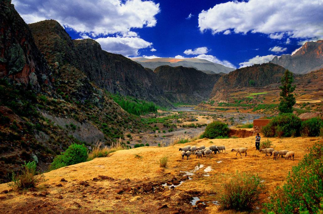 Colca Valley Landscape, Peru