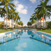Luxury resort in Mexico