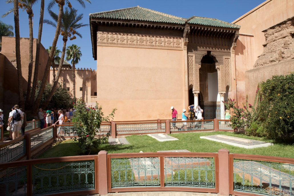 Saadian Tombs in Morocco