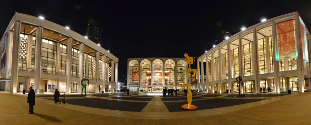 NYC, New York, Lincoln Center