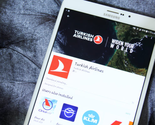 Turkish Airlines app