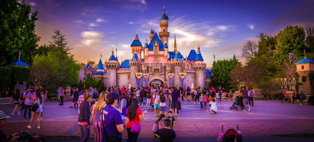 Disneyland, California pano