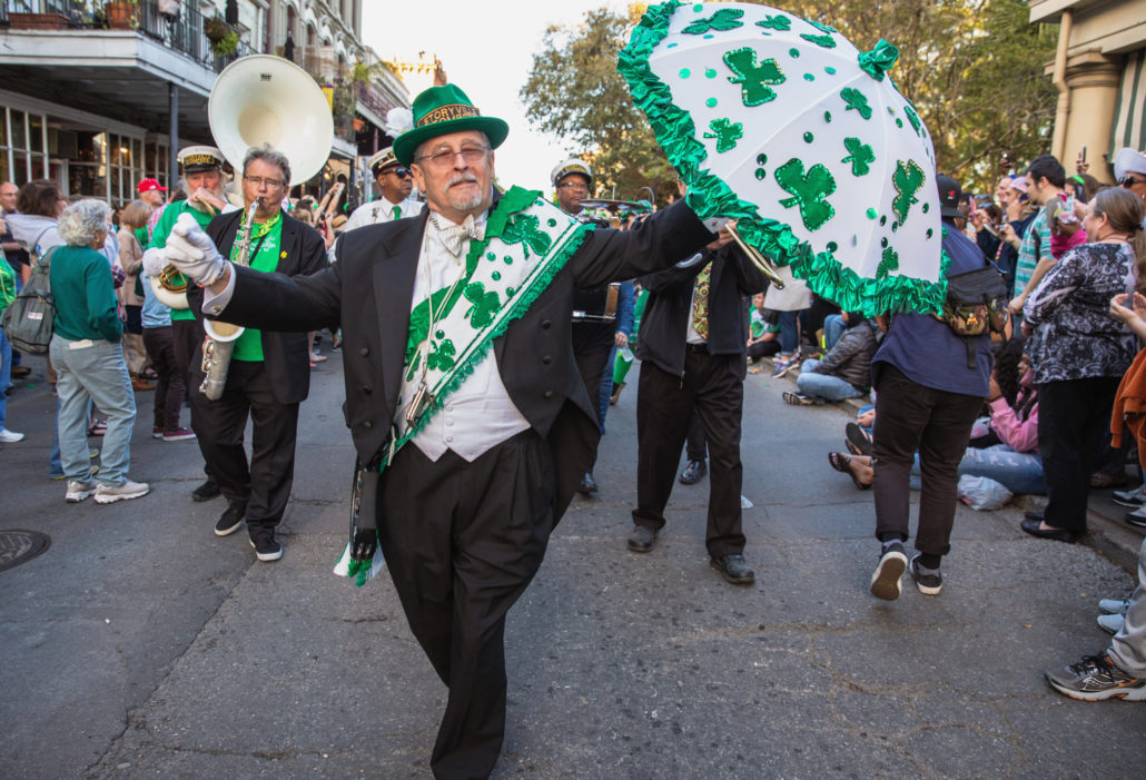 St. Patrick's Day in New Orleans, Lousianna