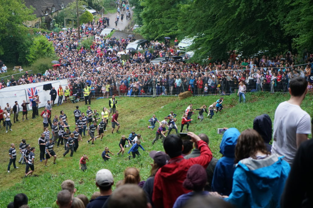 Cooper`s hill Cheese Rolling Race 2017
