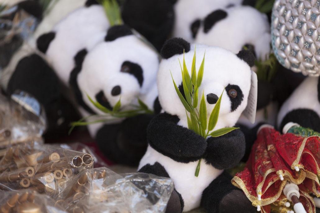 WWF Panda toys