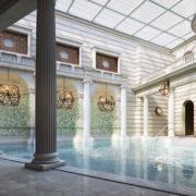 gainsborough spa village pool