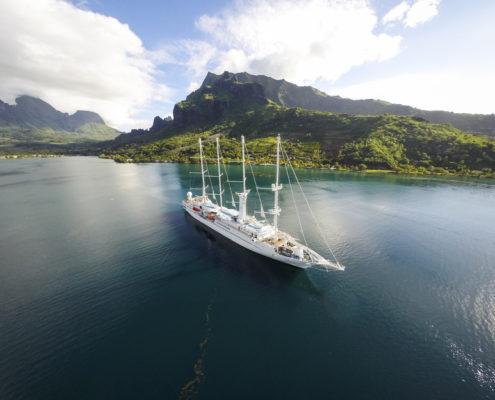 Wind Spirit Tahiti GoPRO Areal