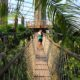 Gondwanaland - Hängebrücke über den Gamanil