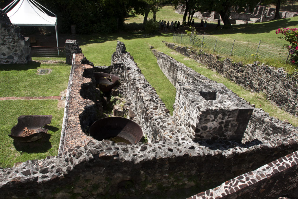 Martinique; France; Department; Carribean; island; Presqu'ile de la Caravelle; La Trinite; Chateau Dubuc; Du Buc; rhum; rum; factory; sugar plantation; coffee plantation; 17th c.; 18th c.