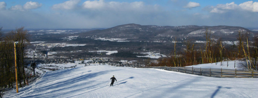 Quebec; Eastern Townships; Canada; Bromont; Bromont Ski Area; Chateau Hotel Bromont; dining
