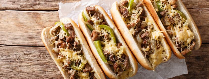 cheesesteak sandwiches philadelphia