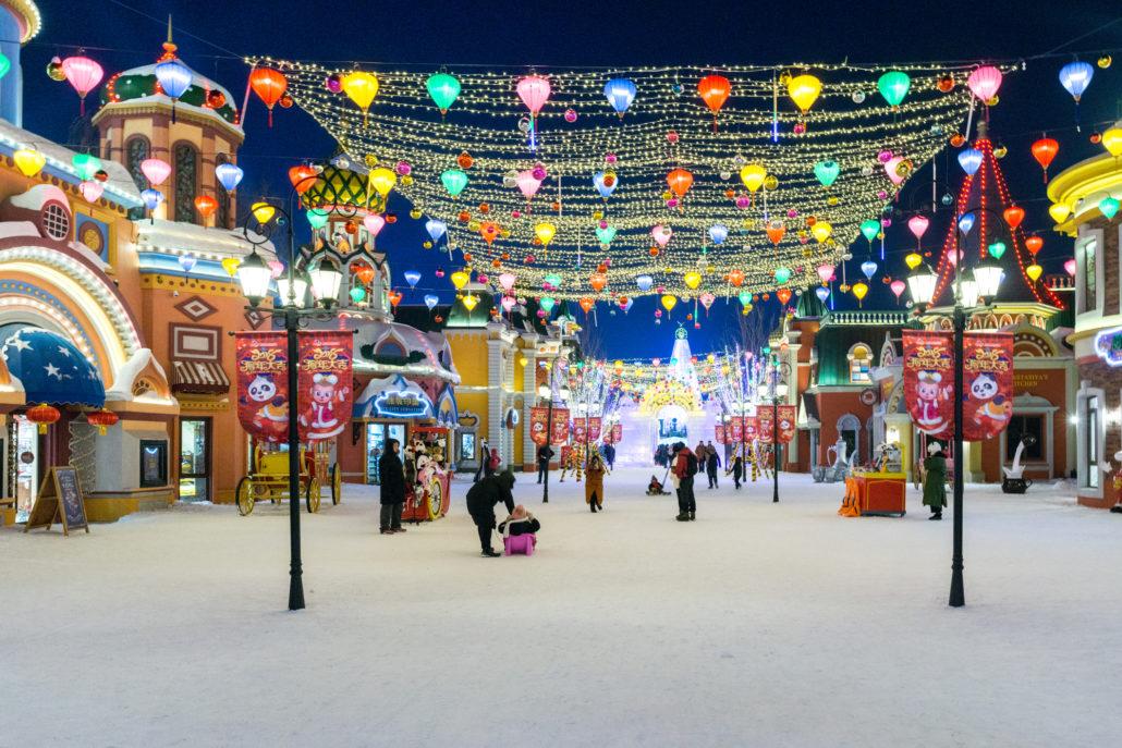 Harbin Ice Festival 2018 -Wanda Town