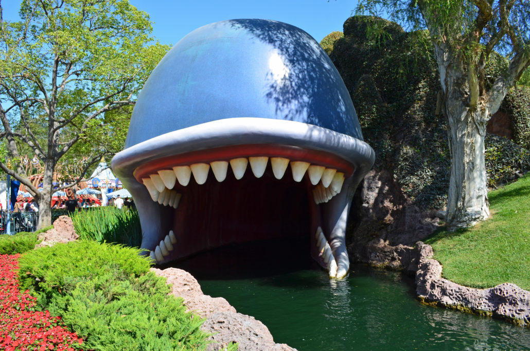 Monstro the Whale at Disney's Storybook Land Ride