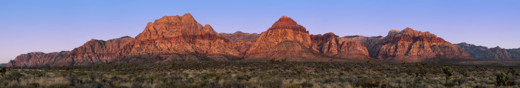 Red Rock Canyon pano