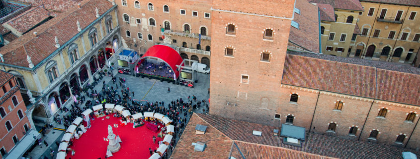 Valentines day in Verona, Italy