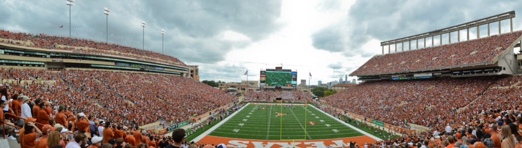 Texas Longhorns Football game