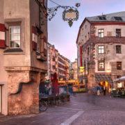 Innsbruck, Austria small town
