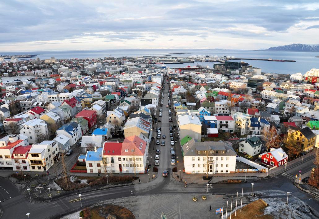 City of Reykjavik, Iceland