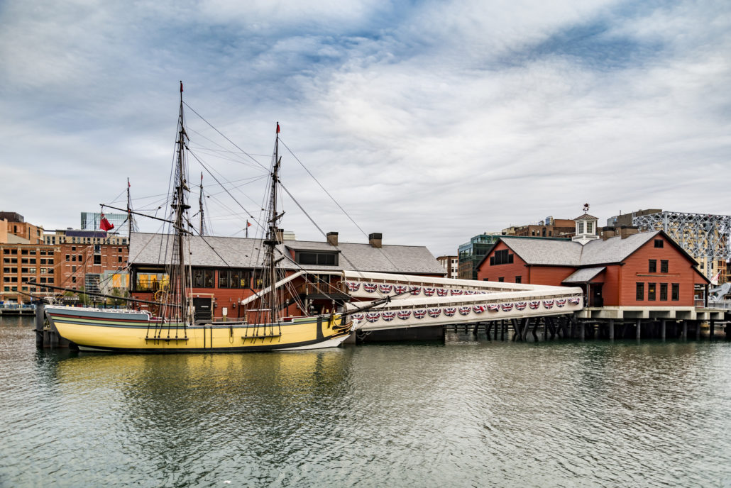 The Boston Tea Party Museum. Liberty, events.