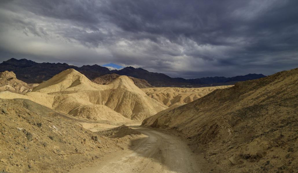twenty mule team canyon landscape. Park, space. Death Valley