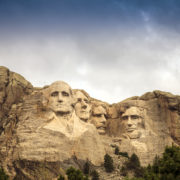 Mount Rushmore National Memorial Park in South Dakota, USA.