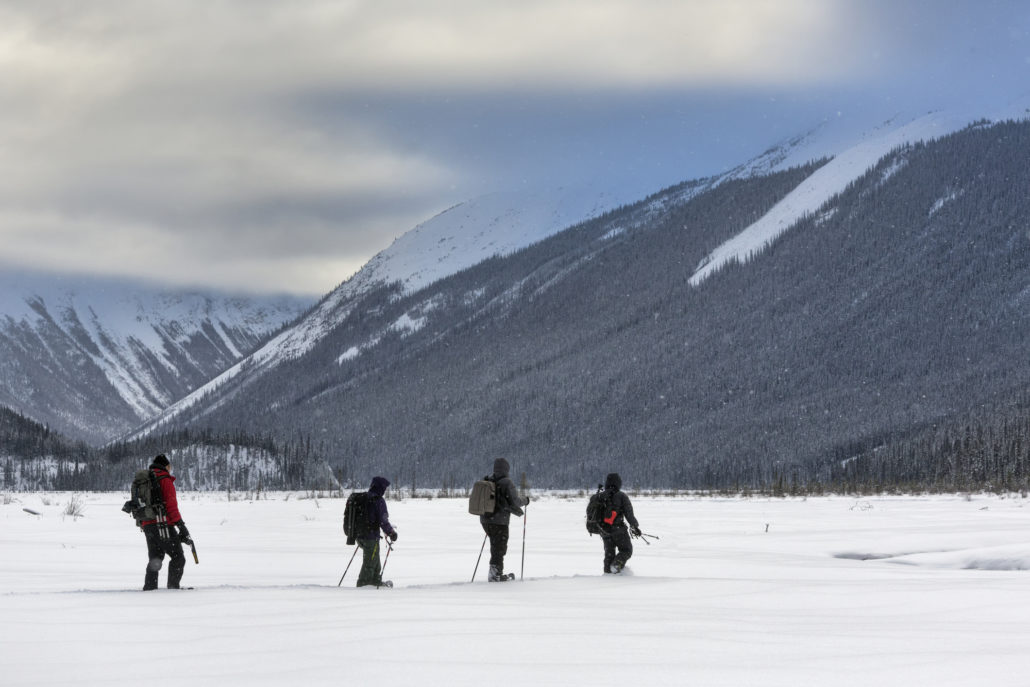 Snowshoeing the Canadian Rockies
