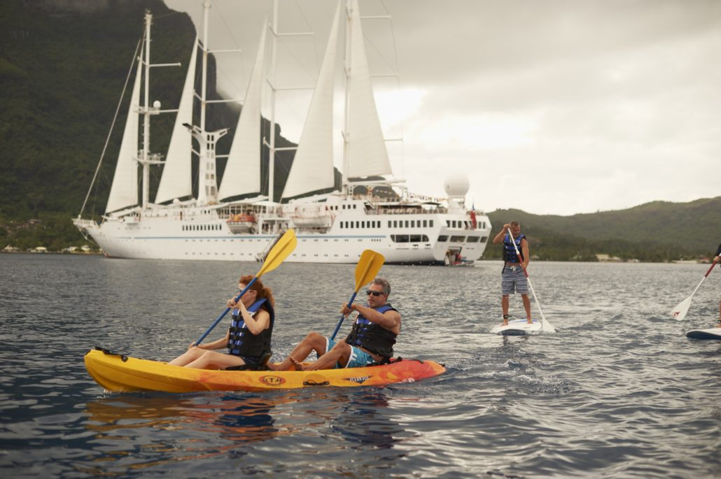 Zodiac Windstar Kayaking