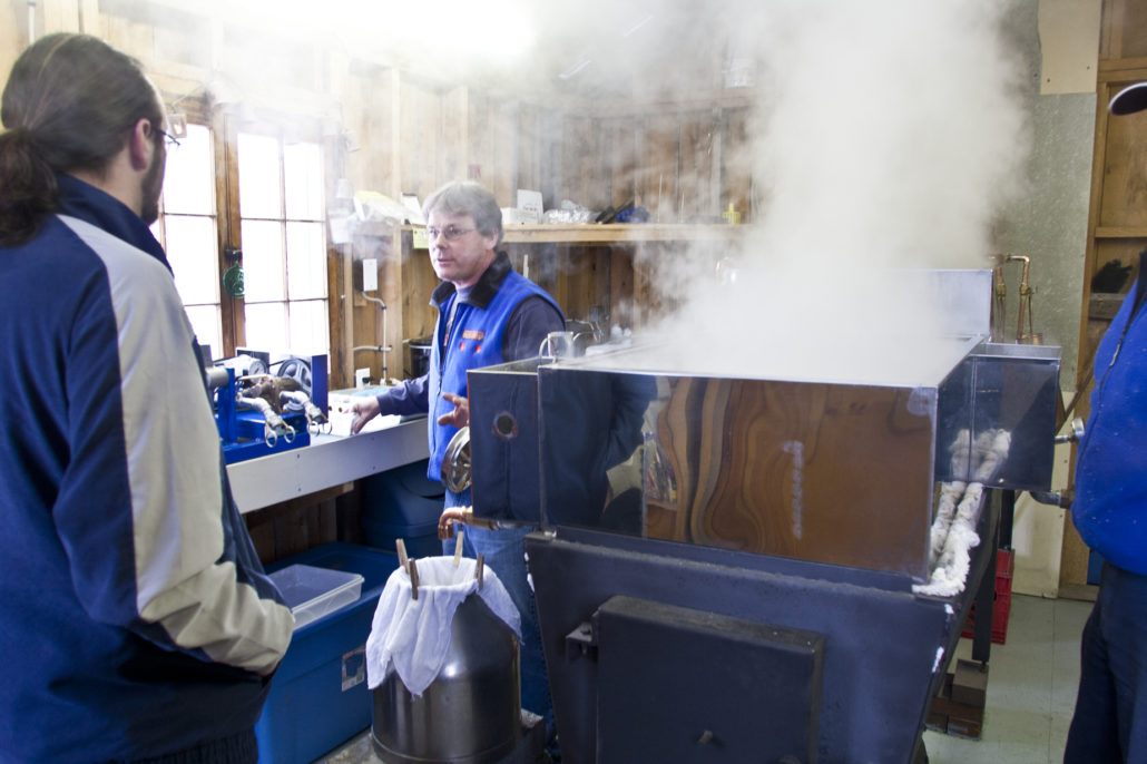 maple sugaring, Jackson, NH