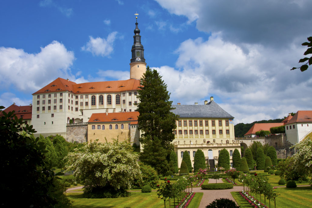 Germany, Weesenstein, Weesenstein Castle, gardens, Saxony,