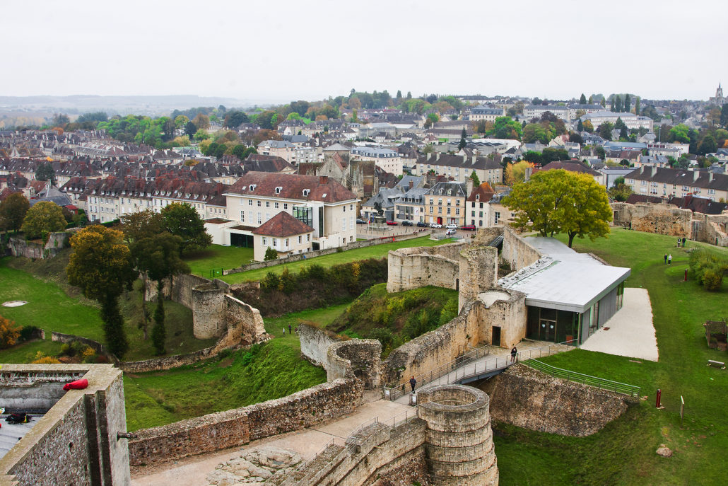 France, Normandy, Falaise, Falaise castle, William the Conqueror, interior, exterior, Dukes of Normandy,