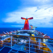San Juan, Puerto Rico, The Carnival Cruise Ship Fascination at the Caribbean Sea