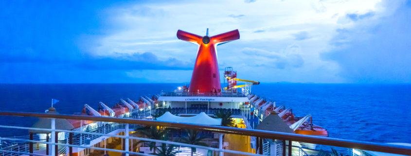 San Juan, Puerto Rico, The Carnival Cruise Ship Fascination at the Caribbean Sea