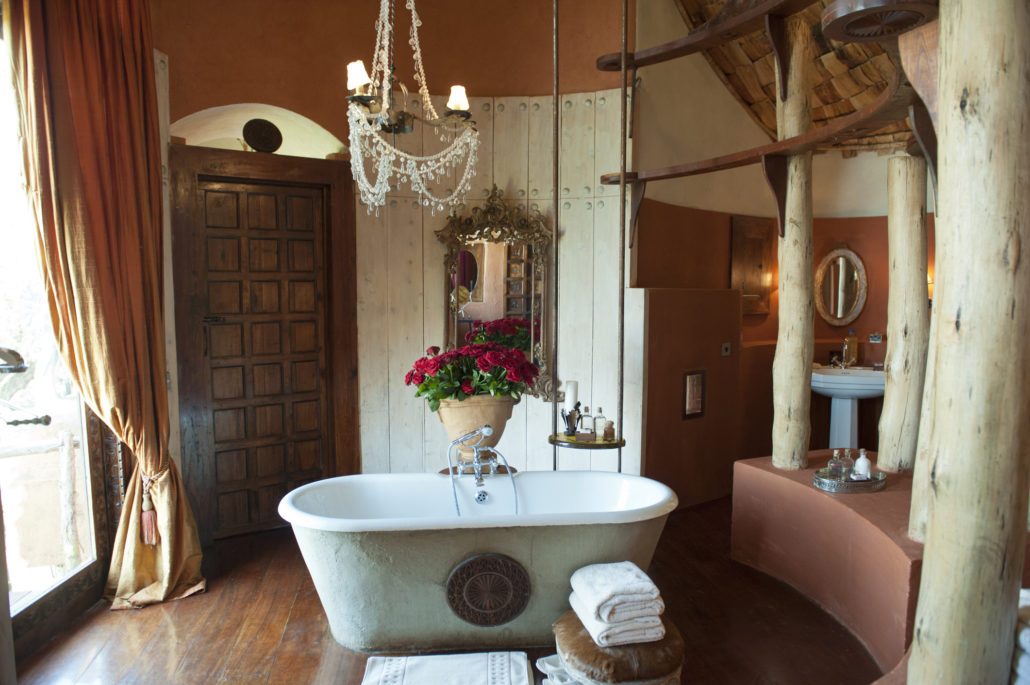 Luxury bathroom Safari Lodge