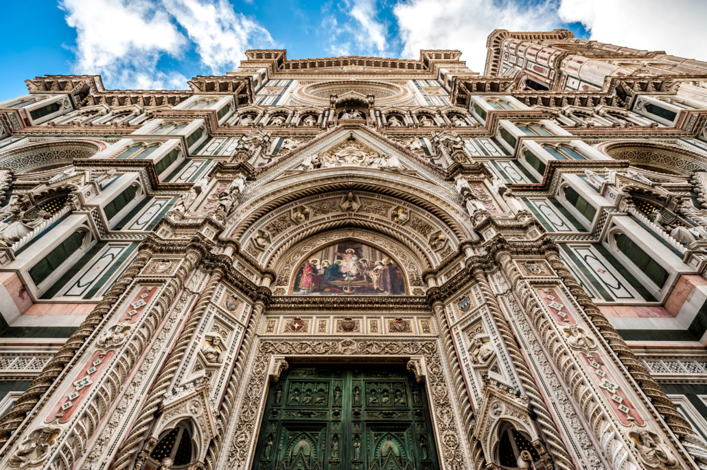 Cathedral of Florence in Italy
