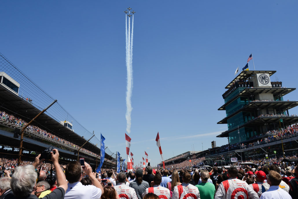 indianapolis 500 air show