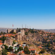Old fort in Ankara Turkey