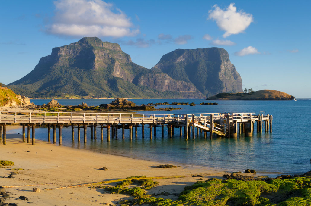 Lord Howe Island Lagoon and Jetty
