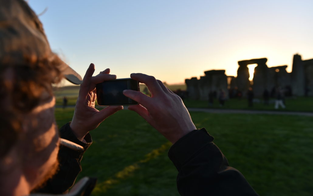 tour at Stonehenge. Culture, english.