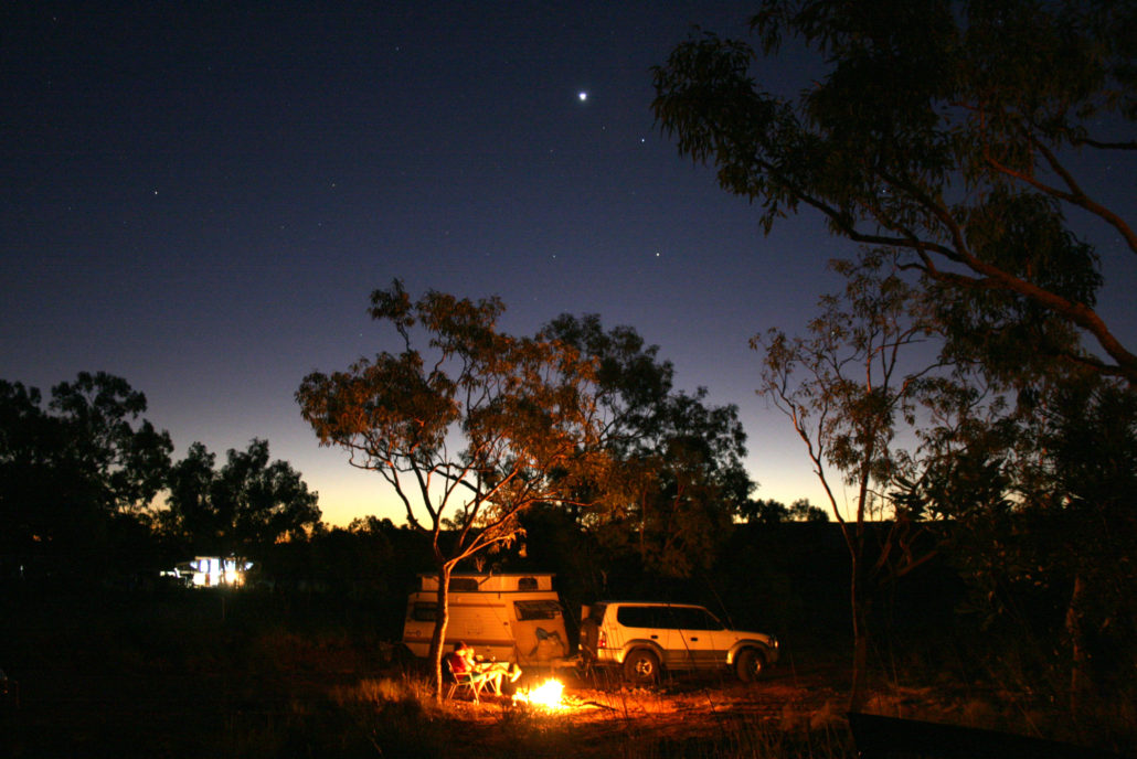 Starry Camping