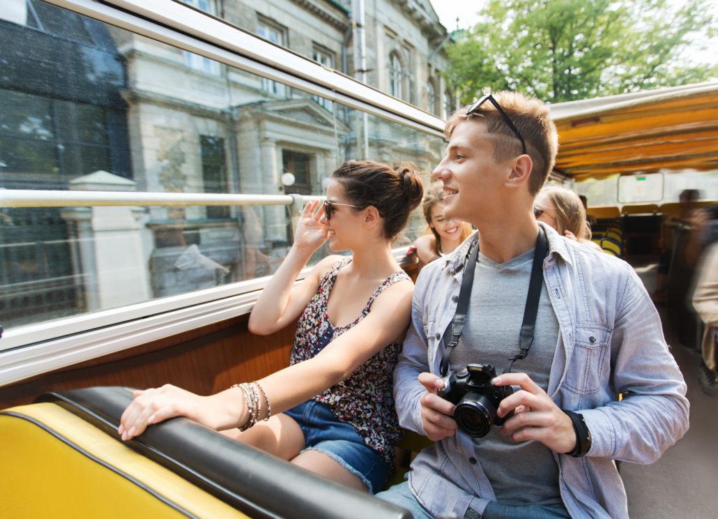 City tourists