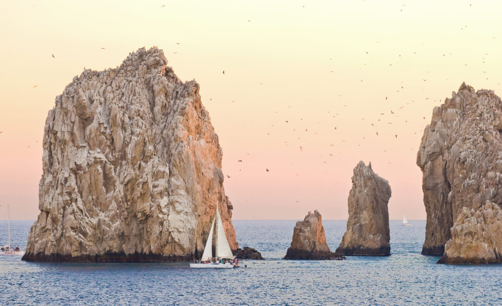 Sailing in Cabo San Lucas