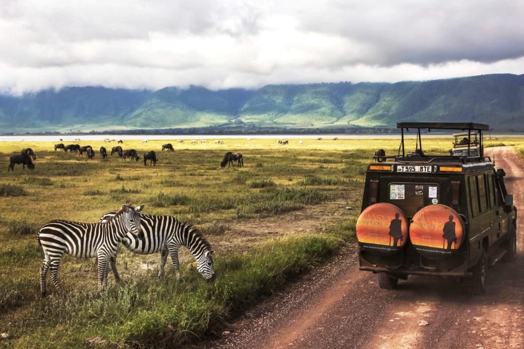 Africa, Tanzania , Ngorongoro Crater